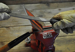 Properly cleaned and sharpened tools take less effort to use than those that are rusty and covered with soil.